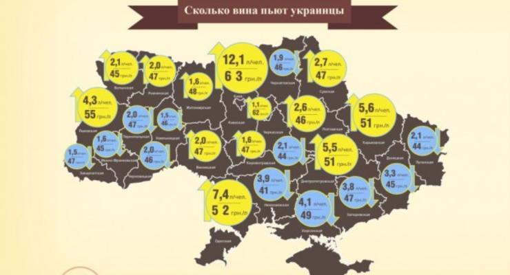 Самое дешевое вино в Украине продается в Николаевской области