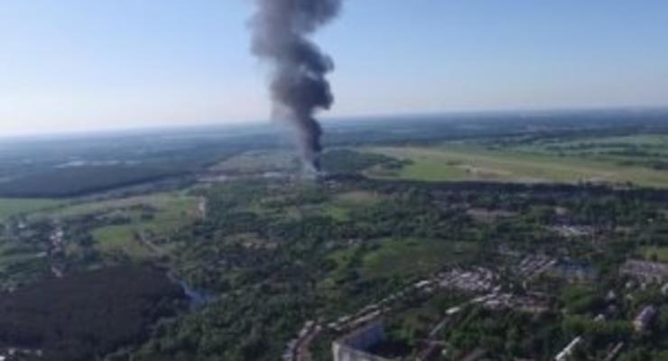 Данные о самых загрязненных территориях после пожара на нефтебазе под Киевом будут известны через неделю - главный санврач Киева