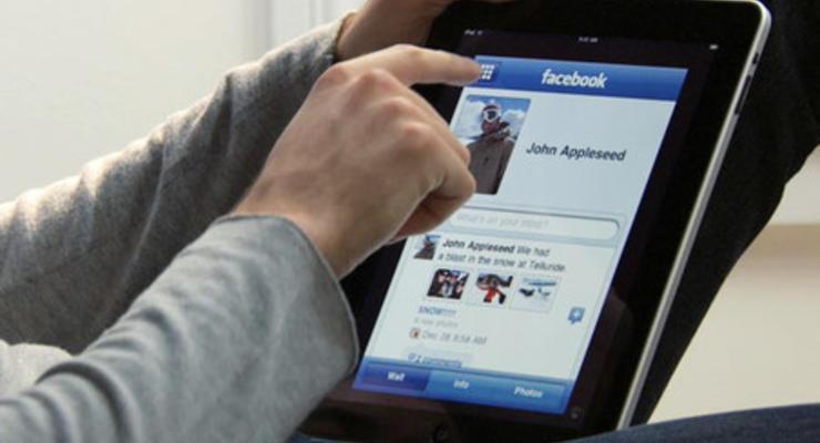 Количество украинской аудитории Facebook растет