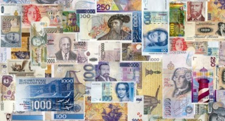Наличные курсы валют в банках регионов Украины на 26 июня