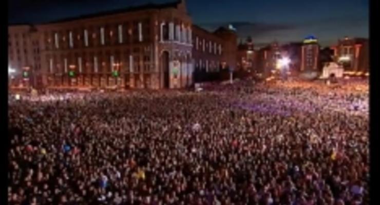 Концерт «Живи в Украине» на «Интере» объединил всю страну