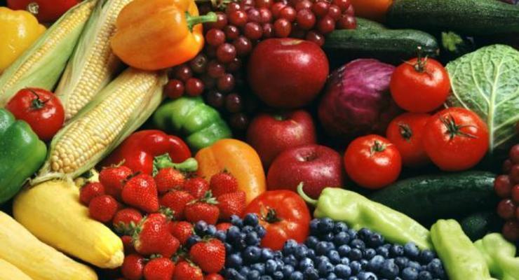 Овощи и фрукты провоцируют дефляцию