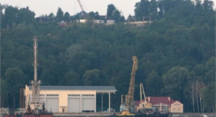 Янукович строит яхт-клуб возле Межигорья?