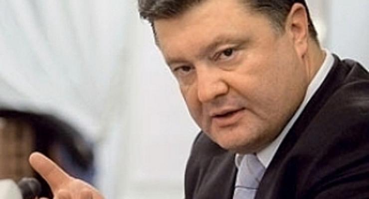 Азаров раскритиковал Порошенко