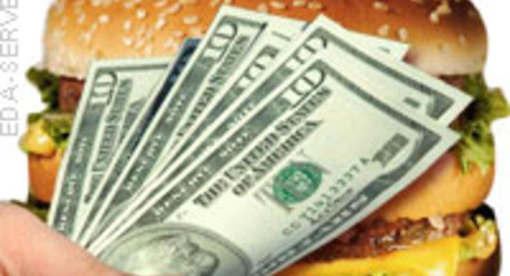 Курс доллара в Украине завышен, если считать в гамбургерах