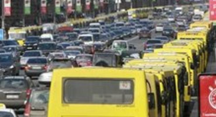 В Киеве исчезнет половина маршруток?