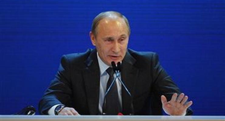 Путин хочет удвоить российский ВВП за 10 лет