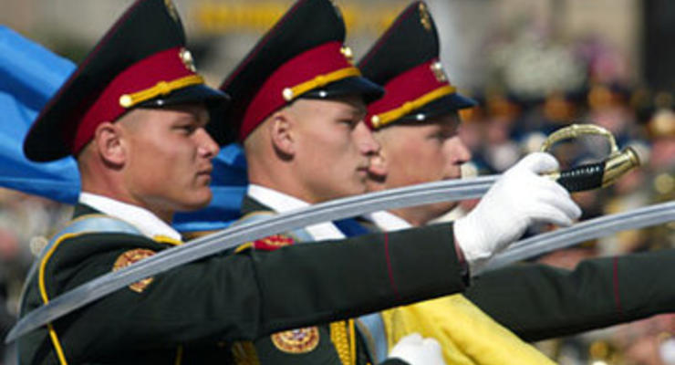 На военный парад 24 августа потратят 320 млн гривен