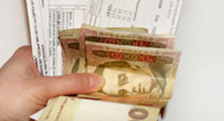 Киевляне оплачивают коммунальные услуги в срок