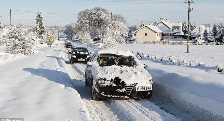В Киеве будут штрафовать за неубранный снег