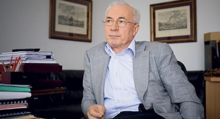 Азаров хочет вступить в ЕС на 90%