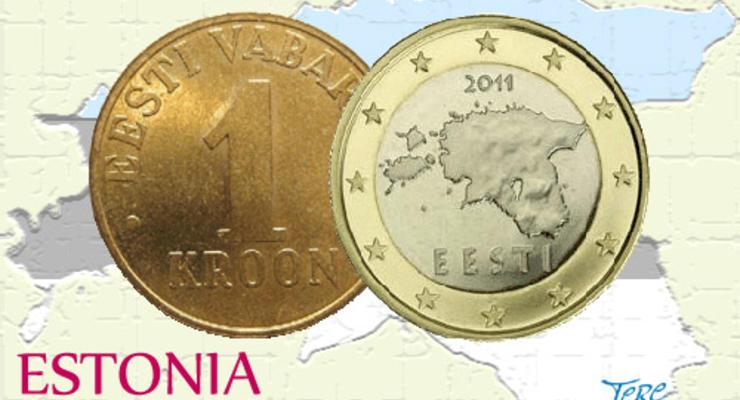 На эстонских евро обнаружили ошибку