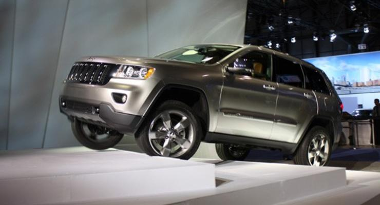 На украинский рынок возвращаются Chrysler и Jeep