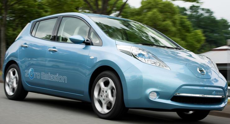 Nissan представил массовый электромобиль