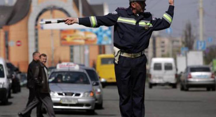 На киевских дорогах местами затруднения (12.10.2010)