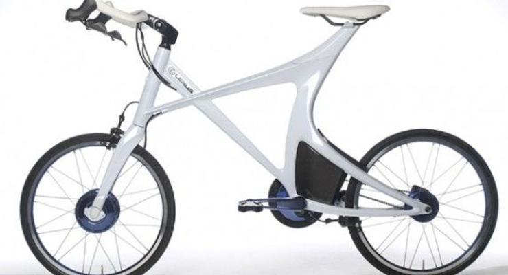 Lexus представил концепт гибридного велосипеда