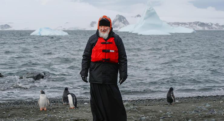 Патриарх Кирилл потратил больше 20 миллионов на визит к пингвинам - СМИ