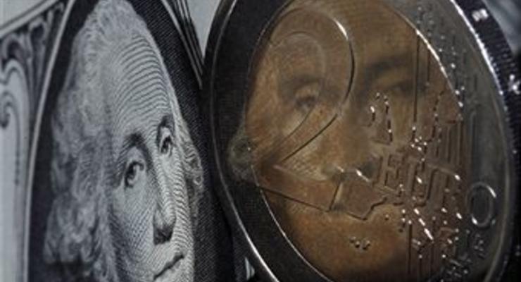 Курсы европейских валют к доллару США на 24 декабря