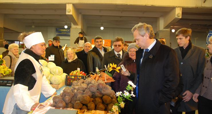 В Кировоградской области появится оптовый рынок сельхозпродукции