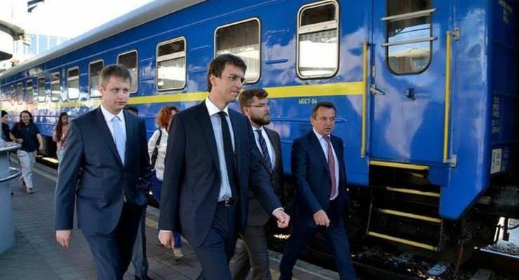 Укрзализныця запустила поезд Интерсити Киев-Николаев-Херсон