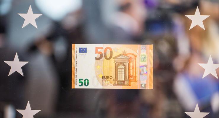 Европейский центробанк представил новую купюру в 50 евро