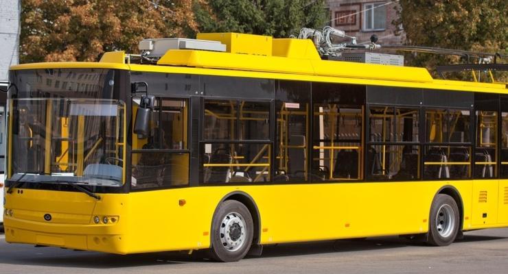 Богдан-Моторс поставила троллейбусов на 14 млн грн