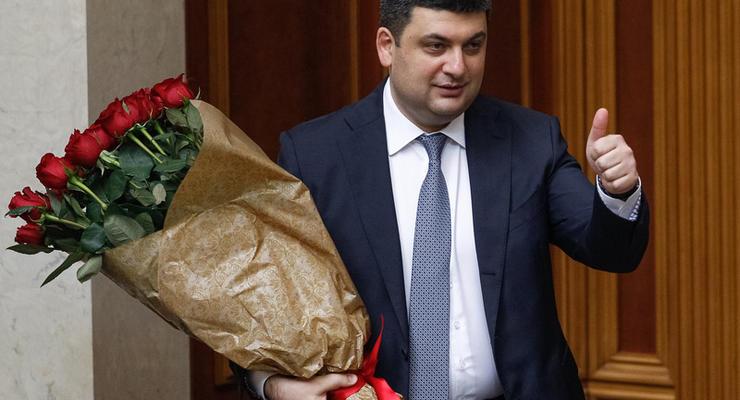 Гройсман похвастался ростом зарплат украинцев