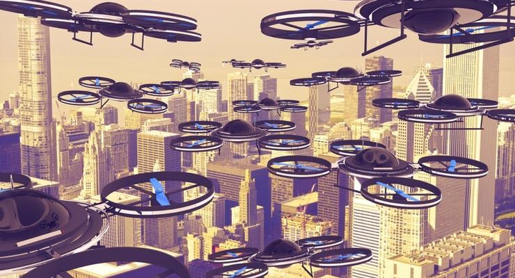 Укрэнерго купит дроны для проверки дефектов ЛЭП