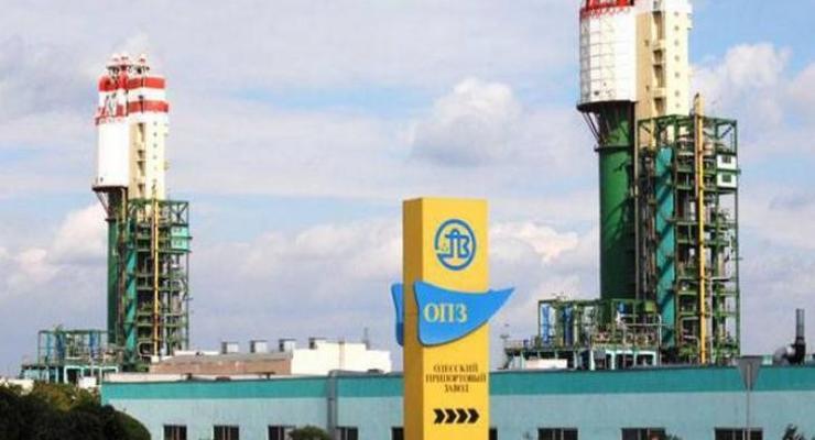 Одесский припортовый завод может возобновить работу с первого октября
