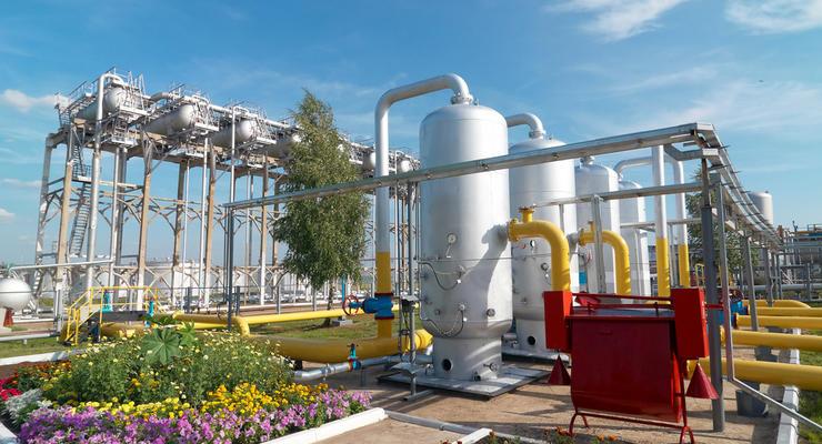 Украинские газохранилища заполнены на 42%