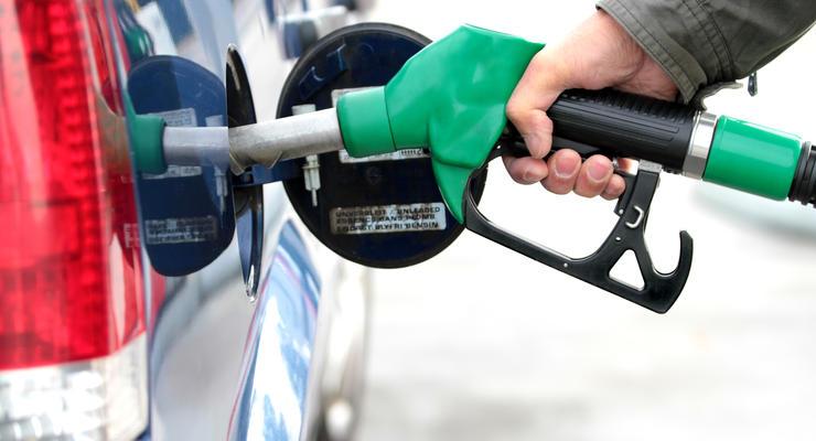 Цены на бензин и автогаз по регионам Украины (динамика за неделю)