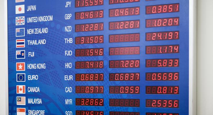 Курсы валют НБУ на 26.09.2016