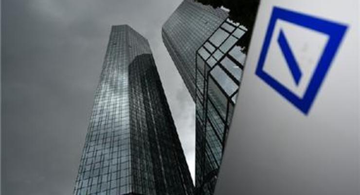 Котировки акций Deutsche Bank упали до минимума с 80-х годов
