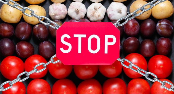 Россия снимет запрет на импорт овощей и фруктов из Египта