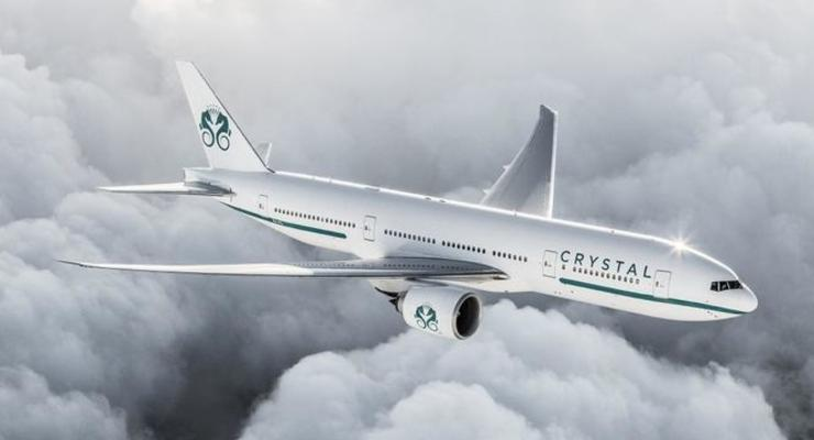 В США представили проект роскошного самолета с рестораном на борту