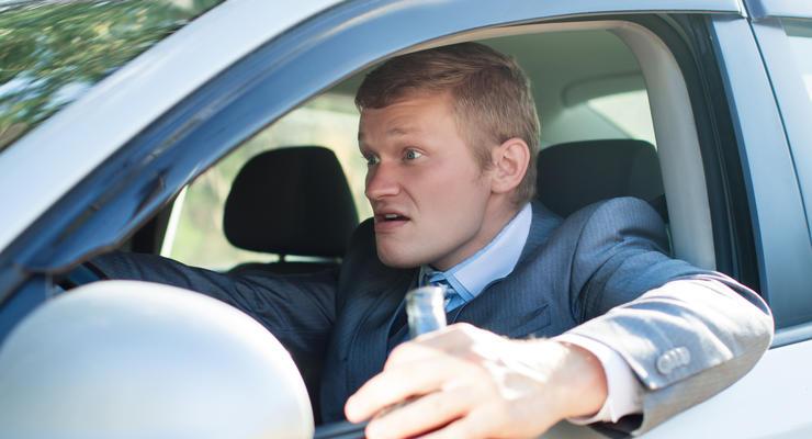 Штрафы за вождение в нетрезвом виде хотят повысить до 100 тыс грн