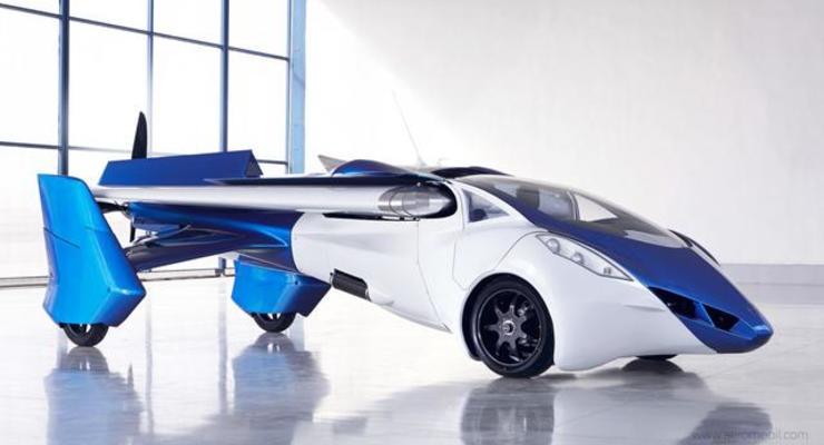 Названа стоимость первого в мире летающего автомобиля