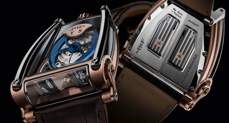 Швейцарские часы, вдохновленные автогонками