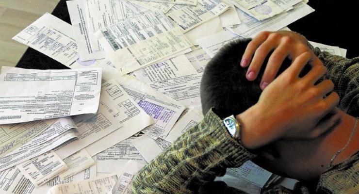 Украинцам готовят ряд серьезных санкций за долги по коммуслугам