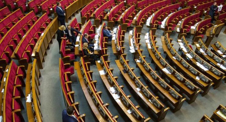 В Раде предложили не платить зарплаты депутатам-прогульщикам