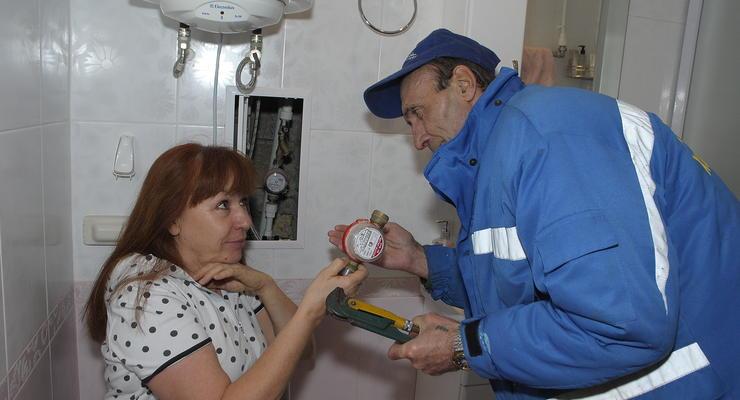 В Украине хотят по-новому проверять счетчики воды