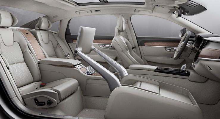Салон Volvo S90 Excellence