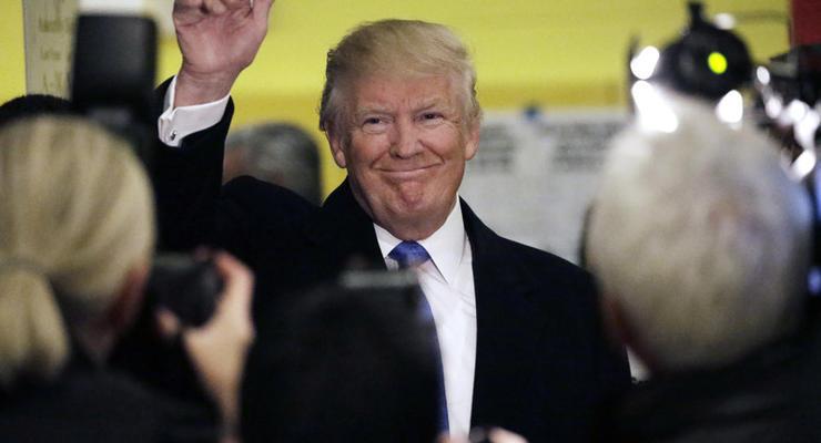 Курс доллара падает на фоне новостей о победе Трампа на выборах