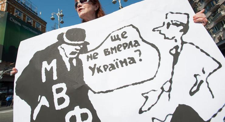 Александр Крамаренко: МВФ обещает не дать денег