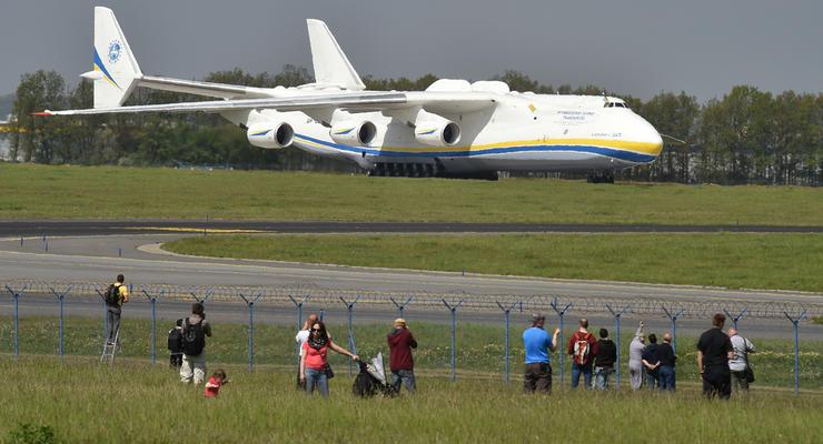 Ан-225 Мрия перевез рекордный для Южной Америки моногруз
