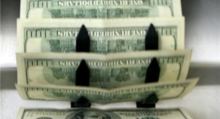 Доллар на межбанке подешевел на 12 копеек
