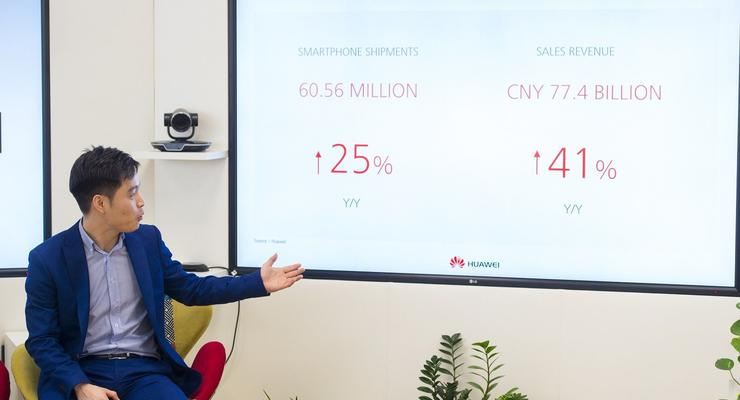 Компания Huawei подвела промежуточные итоги своей деятельности в 2016 году в Украине