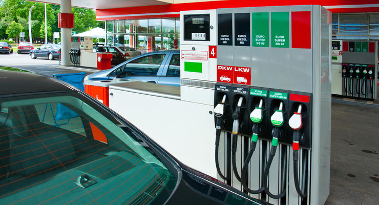 В Украине упали оптовые цены на бензин