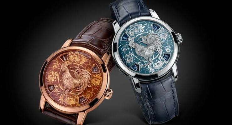 В Швейцарии представили коллекцию новогодних часов без стрелок