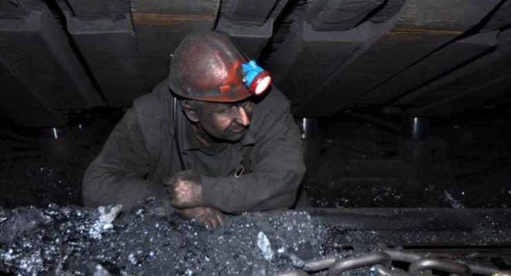 Госшахты отстают от плана по добыче угля на 24%